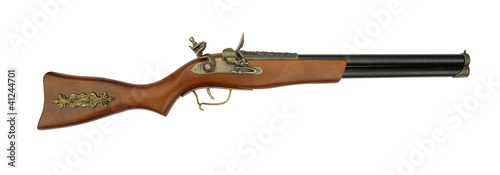 Old rifle blunderbuss shotgun Wallpaper Mural