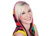 canvas print picture - Beauty blonde Frau lacht