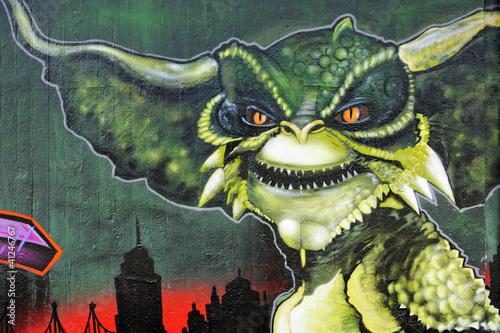 graffiti-nierzeczywistego-zwierzecia