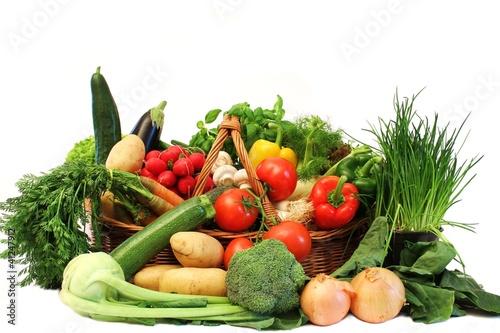 Fotografie, Obraz  diverses Gemüse