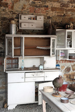 Old Kitchen With Ancient Utens...