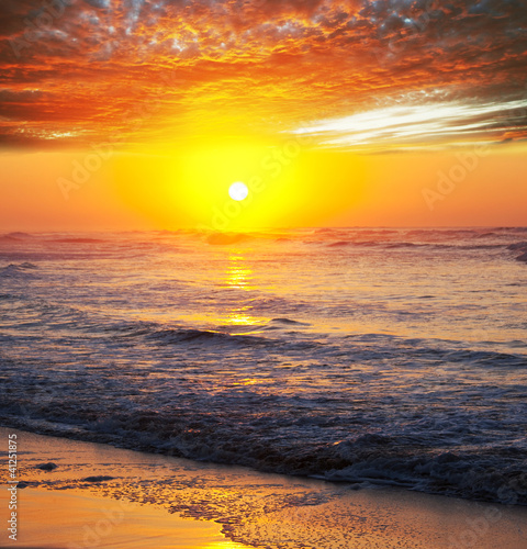 Sea sunset - 41251875