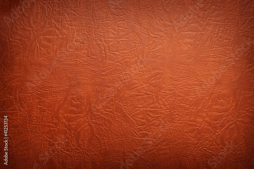 Brown leather texture closeup.