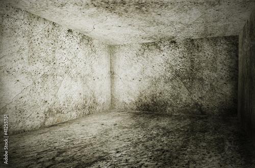 Photo sur Toile Brick wall old grunge interior