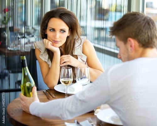 Fotografie, Obraz  Woman In Love On Romantic Date