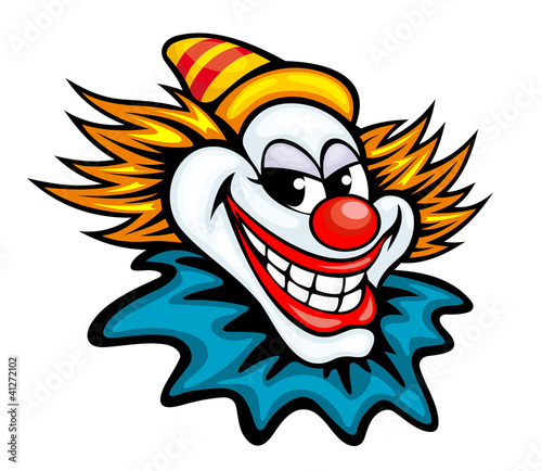 Fotografia Fun circus clown