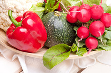 Świeże, Sezonowe Warzywa