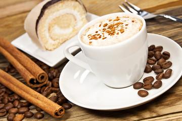 Obraz na Szkle Do restauracji Kaffee und Kuchen