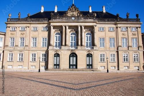 Amalienborg Palace, Copenhagen, Denmark Poster