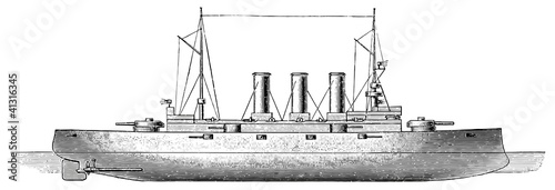 Photo  Battleship SMS Erzherzog Karl, 1903