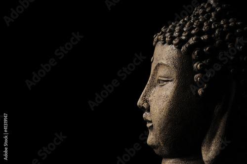Buddha head background
