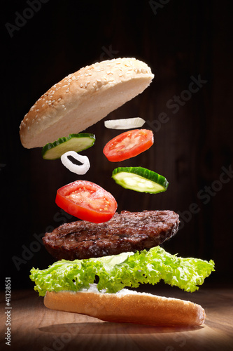 Fotografie, Obraz  Fliegender Hamburger