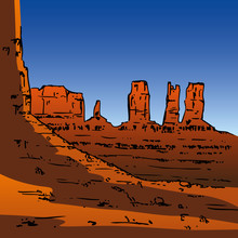 Monument Valley, Grand Canyon,...