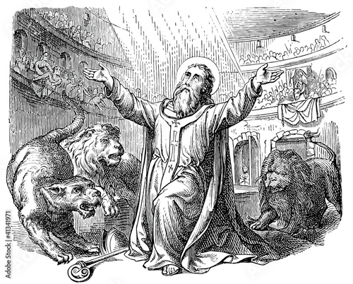 Saint Ignatius of Antioch takes a martyr's death - Buy this stock