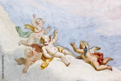 Fotografía  Fresco Wieskirche