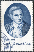 USA - 1978: Shows Captain James Cook, By Nathaniel Dance