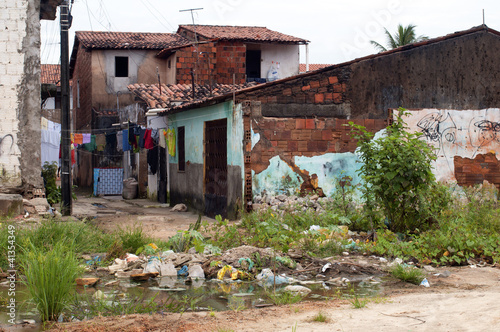 Fotografija  Favela: poverty and neglect