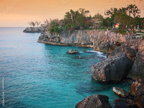 Foto  Klippe in Jamaica