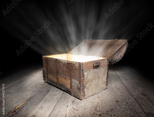 Photo  Chest of treasure