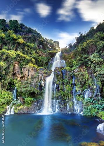 Fotografija Vue générale du bassin des Aigrettes, La Réunion.