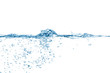 canvas print picture - Wasser Welle