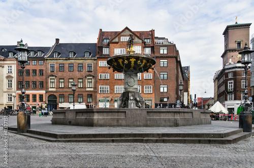 Photo  Caritas Well at Gammel Torv, Copenhagen