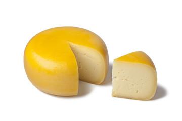 Fototapeta Dutch Gouda cheese