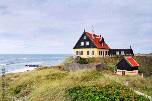 Photo  Haus auf Düne in Skagen, Dänemark - TLerch