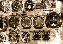 Retro Aviation Background
