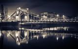 Fototapeta Fototapety z mostem - Grunwaldzki Bridge in Wroclaw