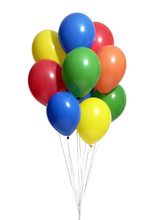 Bunch Of Colorful Balloons Wit...