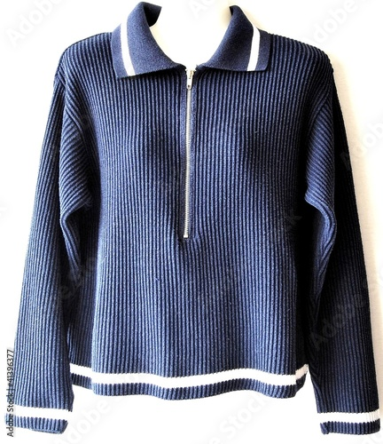 uk availability 2f9e2 6398d Blau-Weiss / Pullover / Marine / Maritime Mode - Buy this ...
