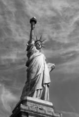 Plakat america-statue of liberty-liberty island