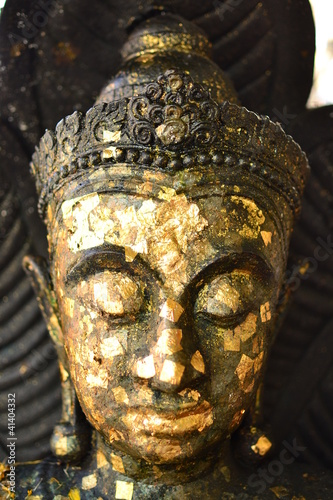 Buddha statue in Thai temple