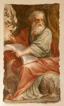 Rome - St. John The Evangelist At Writing Of Apokalypse