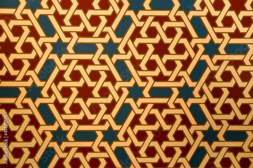 Fotomural Moorish pattern