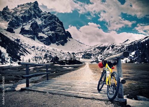 In de dag Fiets Escursione in montain bike