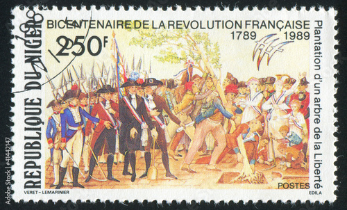 French Revolution Fototapeta