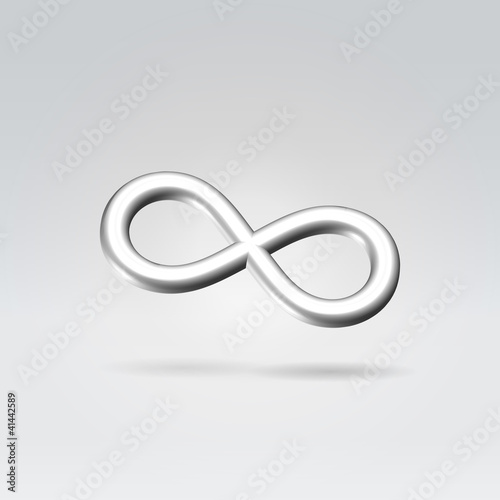 Silver Infinity Symbol Buy This Stock Vector And Explore Similar