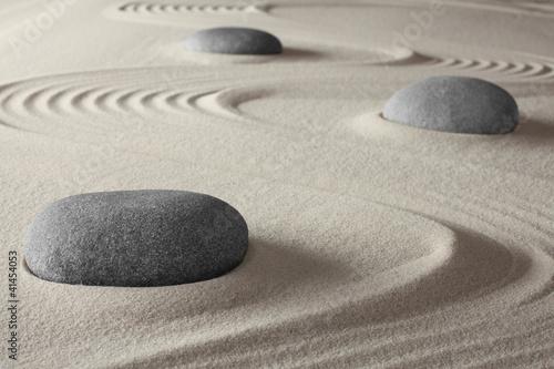 Japanese zen garden - 41454053