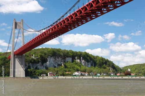 La pose en embrasure Ponts pont de tancarville