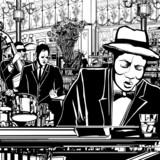 zespół jazzowo-fortepianowy w restauracji - 41469561