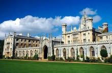 New Court In St John's College, Cambridge, United Kingdom
