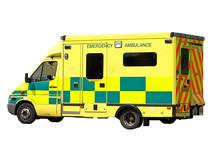 Emergency Ambulance Isolated O...