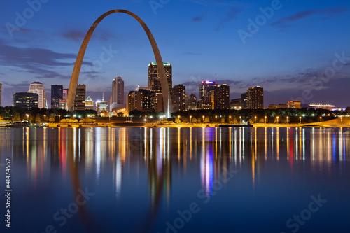 Photo  City of St. Louis skyline.