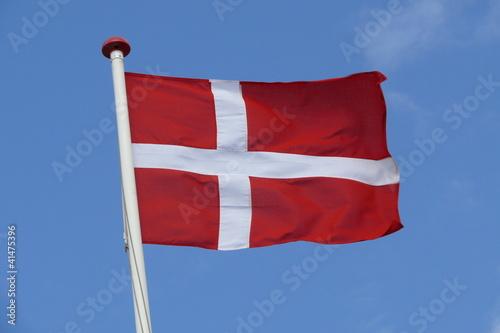 Dänemark Flagge Poster