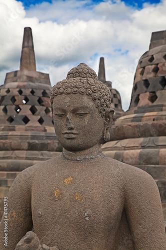 Foto op Plexiglas Indonesië Borobudur temple in Indonesia