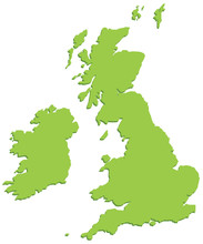 United Kingdom Accurate Map