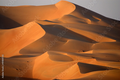 Photo Dunes in Abu dhabi