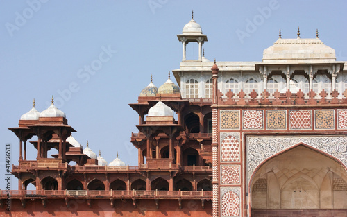 Wall Murals Nepal Tomb of Akbar the Great